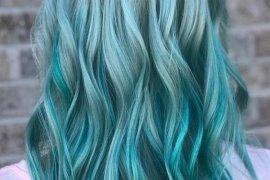 Blue Green Mermaid Hair Color Ideas for 2018
