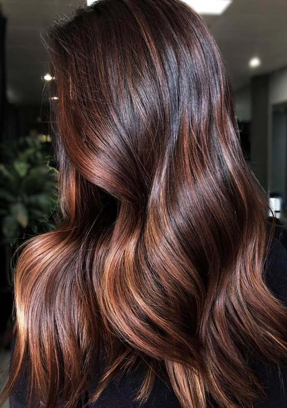 22 Gorgeous Chocolate Brown Hair Colors To Try In 2018
