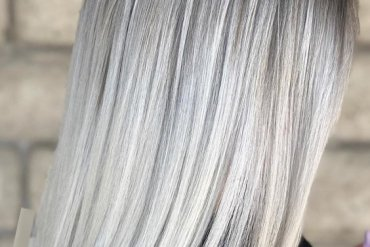Perfect Ice Blonde Sleek Straight Hairstyles for 2018