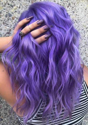 Stunning Shades Of Purple Hair Colors in 2018