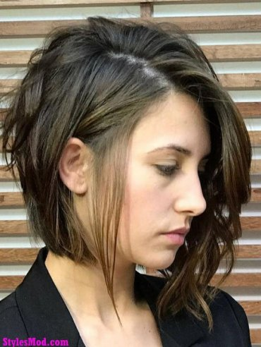 Short Haircuts for Thick Hair 2018