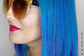 Blue Hair Color Looks & Styles
