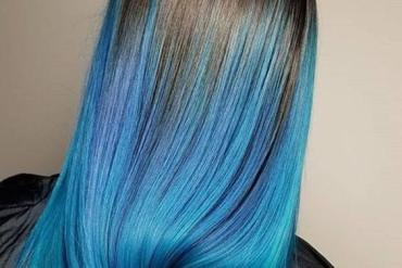 Black to Blue Hair Color Style & Trends