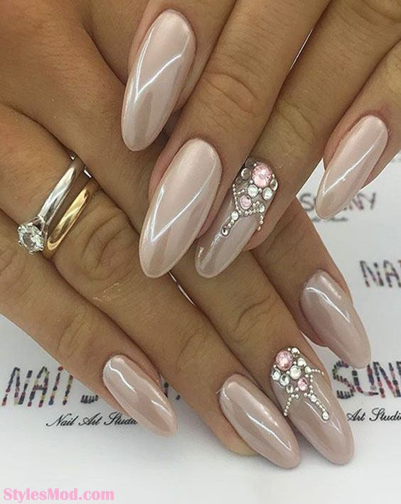 Simple Nail Art Designs & Ideas for Long Nails In 2018 | Stylesmod
