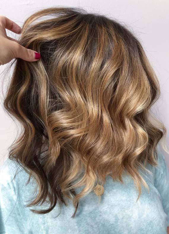 Bronde Balayage Hair Color Ideas in 2018