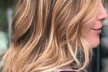 Copper Light Brown Hair Color for Girls