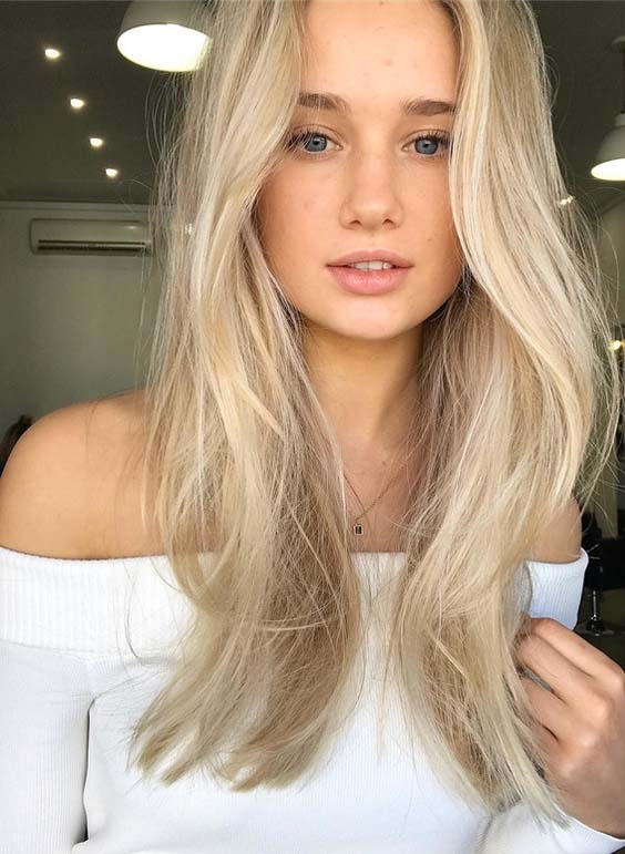 Perfection Of Ash Blonde Hair Colors Highlights in 2018