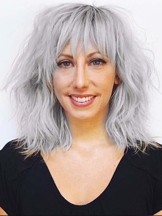 Shaggy layered Haircuts for Women 2018