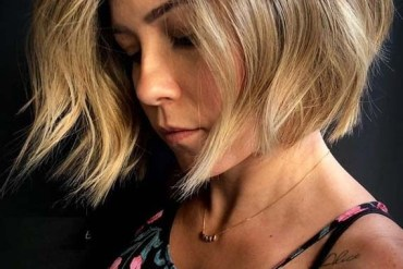 Short Textured Bob Haircuts for 2018