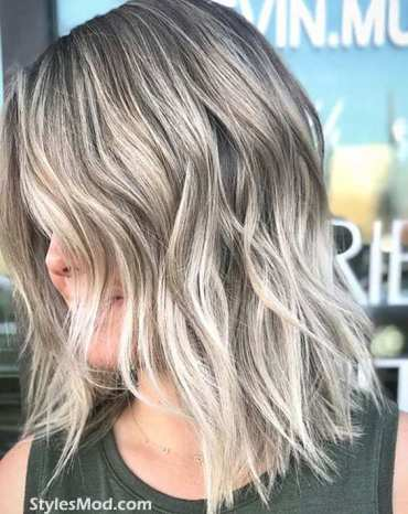 Silver Hair Color Styles & Trends for 2018