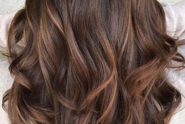 Smooth Caramel Balayage Hair Color Ideas for 2018