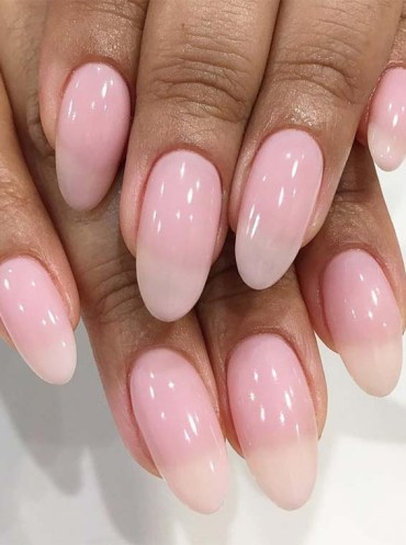 Soft Pink Pastel Nail Art Designs in 2018
