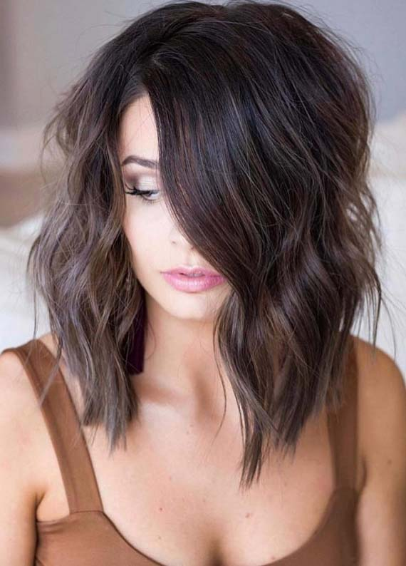 Trendy Long Bob Hairstyles for 2018