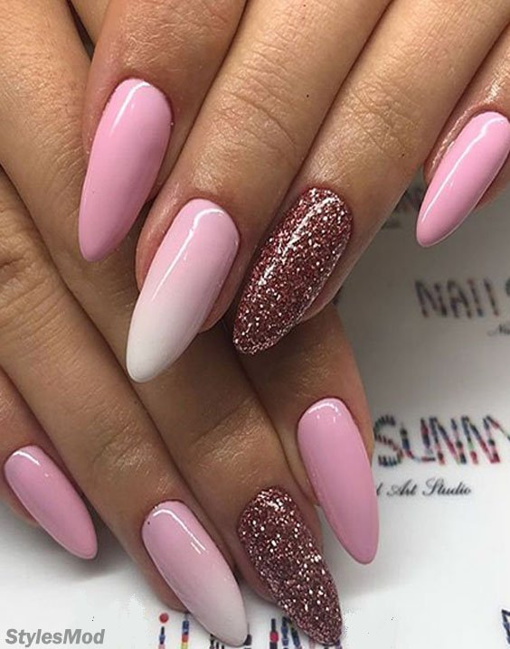 Cute & Pretty Nail Art Design To wear with New Way In 2018