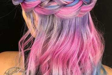 Brilliant Round Head Braids Hairstyles with Different Shades of Hair Color