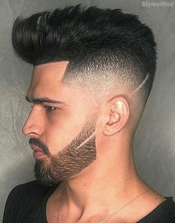 Awesome Small Beard with Medium Hairstyle for Men's In 2018