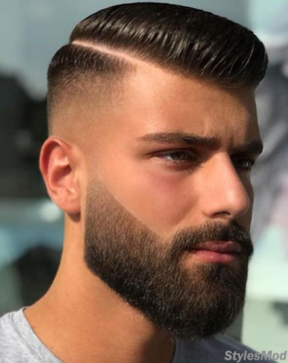 Beautiful Beard with Excellent Men's Hairstyles To Wear In 2018