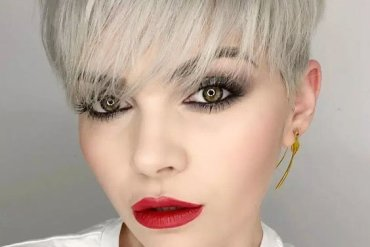 Marvelous Bob Haircuts Trends with Grey Hair Color Look for 2018