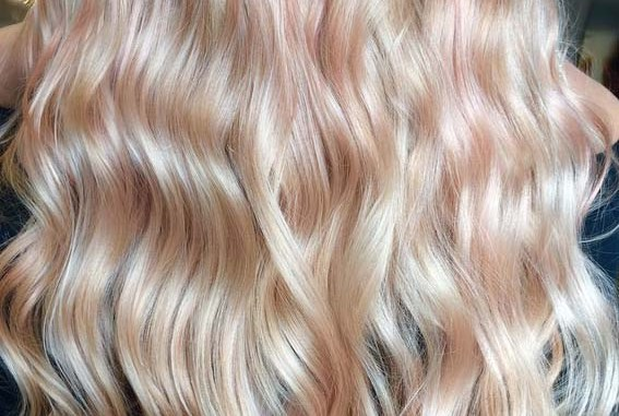 Perfect Rose Gold With Blonde Shades Of Hair Colors In 2018 Stylesmod