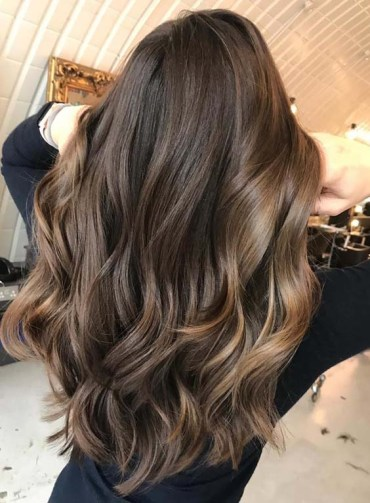 Perfect Yummy Caramel Balayage Hair Color Ideas for 2018