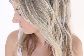 Rooted Bright Blonde Hair Color Trends in 2018
