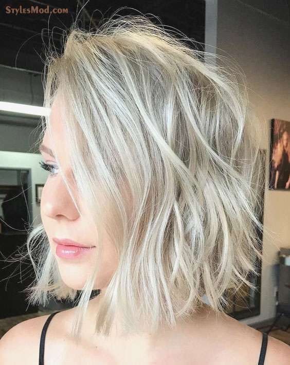 Short Silver Hairstyles for Thin Hair In 2018
