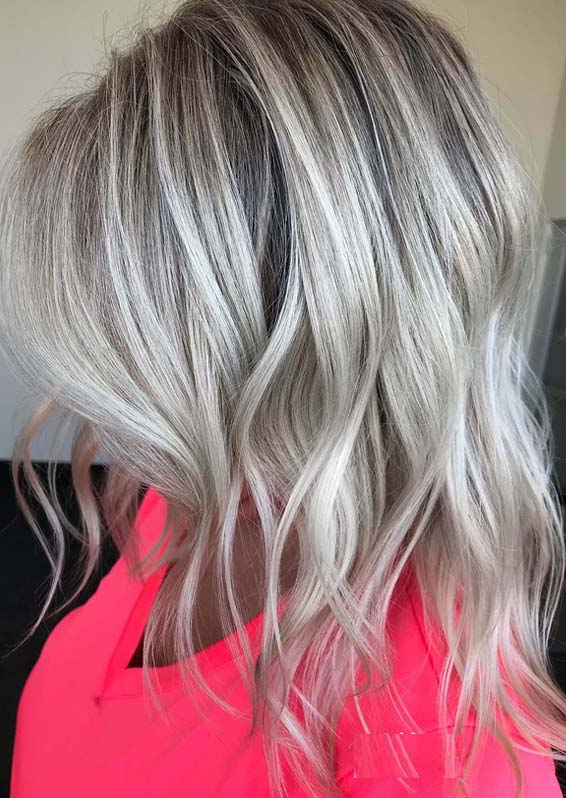 Hottest Silver Blonde Hair Color Trends In 2018 Stylesmod