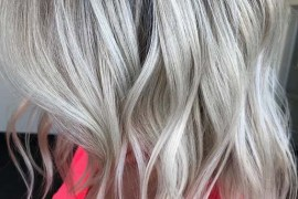 Silver Blonde Hair Color Trends for 2018