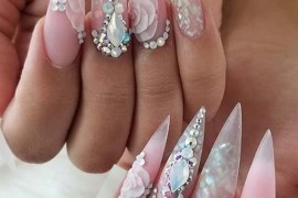 So Gorgeous Designs Of Nail Arts for 2018