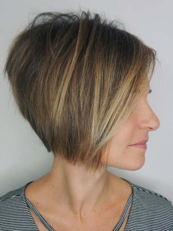 Stunning Short Haircuts for Fine Hair to Sport in 2018