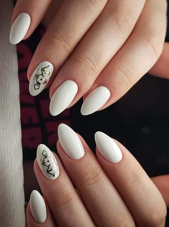 Stylish White Nail Designs You Must Try In Year 2018 Stylesmod