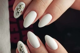 Stylish White Nail Designs You Must Try in 2018