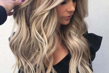 Sun-kissed Blonde Balayage Hairstyles for 2018