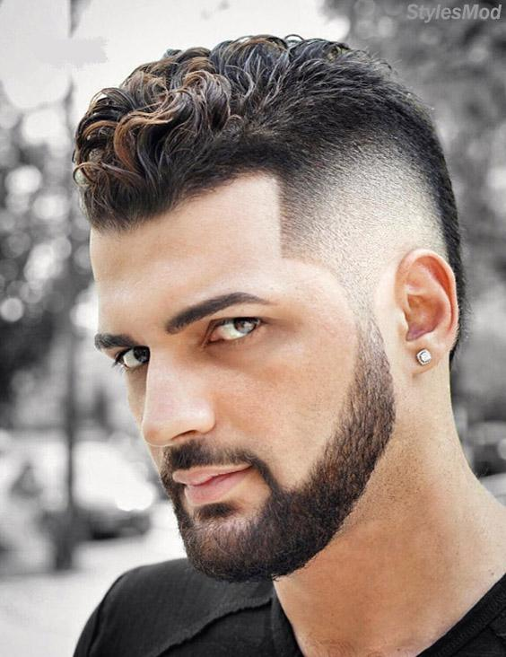 Charming Look of Curly Men Hairstyles for Short Hair