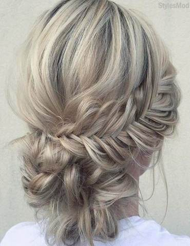 Modern & Stylish Braided Updo Hairstyles for Long Hair