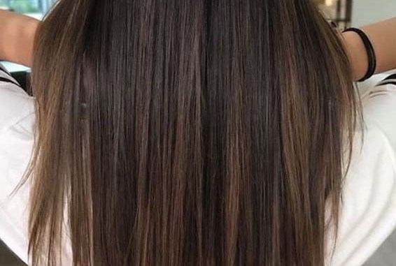 Fabulous Long Straight Hairstyles With Brown Highlights 2018