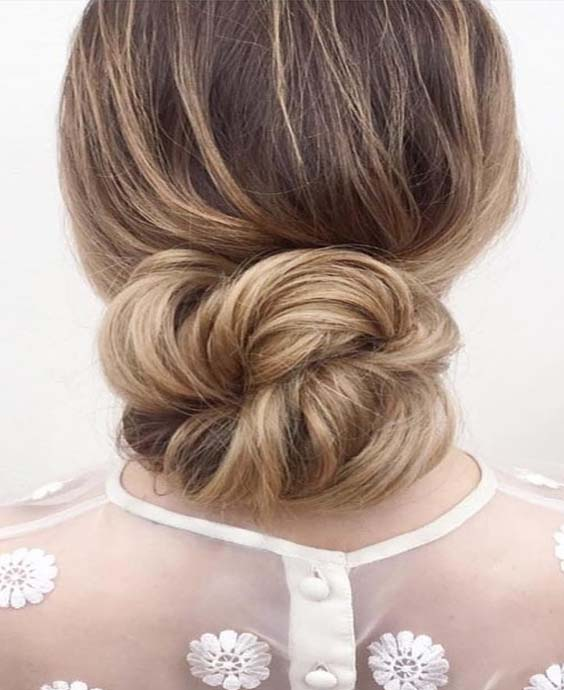 Low Bun Hairstyles For Ladies 2018