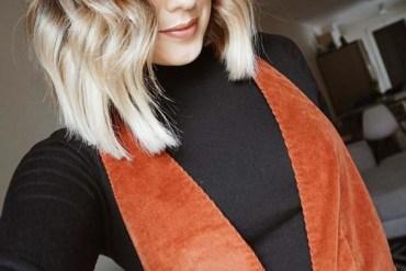 Short Balayage Blonde Haircutsin 2018