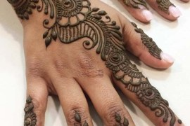 Stylish Henna Designs for Parties in 2018