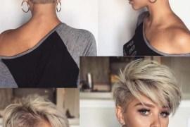 Undercut Pixie Haircuts for Short Hair in 2018