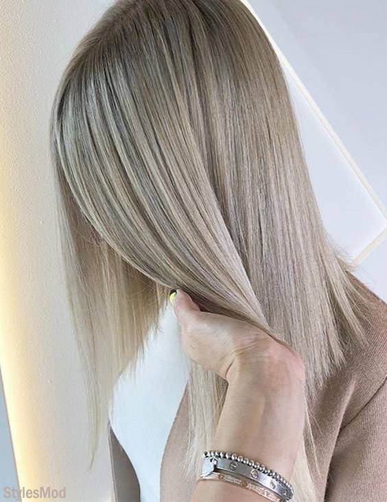 Wonderful Hair Color Ideas for Medium Hair In 2018