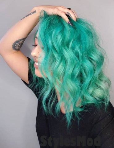 Crazy 2019 Mystical Mint Hair Color Highlights To Rock Now