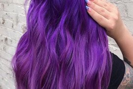 Marvelous Purple Hair Color Ideas & Trends To Try In 2019
