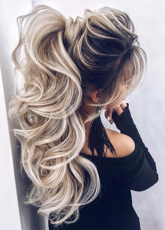 Sensational High Ponytail Hairstyles Trends in 2019