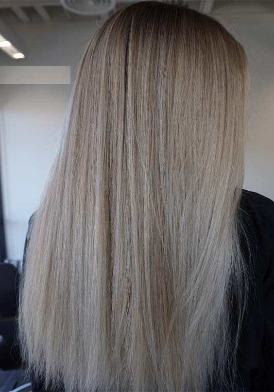 Straight Balayage Hairstyles Trends in 2019