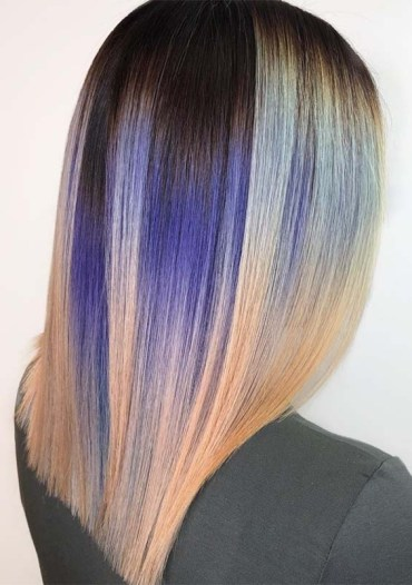 Stunning Blends Of Hair Colors in 2019