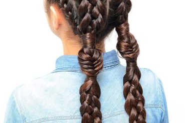 Stunning Double Dutch Pigtail Braided Hairstyles for 2019