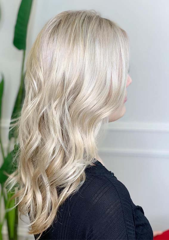 Blonde Hair Color Shades & Baby Lights for 2019