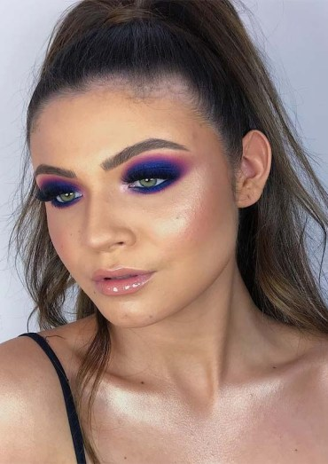 Blue Eyes Makeup Ideas & Trends for 2019