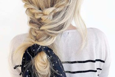 Braid Styles with Scarf You Must Try